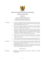 PP No. 20 Tahun 2004 tentang Rencana Kerja Pemerintah