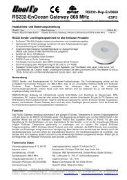 RS232+Rep-EnO868-ESP 3.0 - myHomeControl