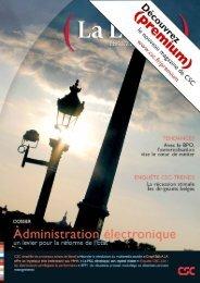 (La Lettre), le magazine de CSC