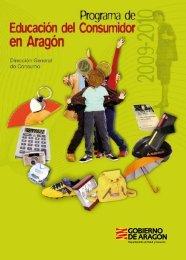 Programa de educación del consumidor en Aragón 2009 ... - Catedu