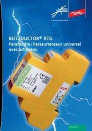 BLITZDUCTOR® XTU - DEHN