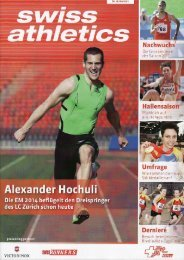 swiss athletics Magazin, PDF