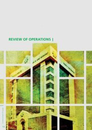 Review of Operations - Commercial Bank of Kuwait