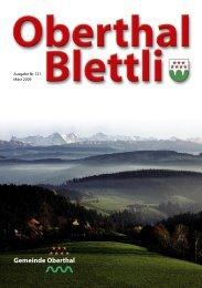 Ausgabe 01/09 - Oberthal