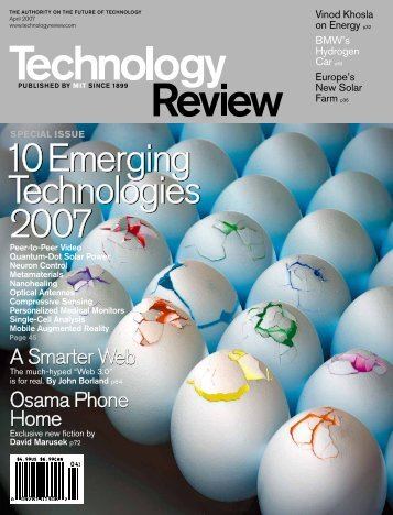 Technology Review - April 2007