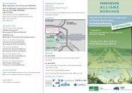 FLYER_Parkinson Allianz.indd - NeuroKopfZentrum - TUM