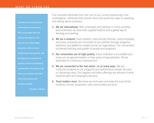 A basic manual of standards - My Laureate - Laureate Education
