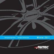 Winter 2011 - AUTEC GmbH & Co. KG