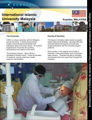 International Islamic University Malaysia - Robotel