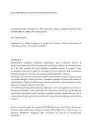 Classificatori Statistici e Reti Neurali nella segmentazione ... - Circe