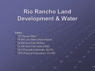 John Korkosz, Rio Rancho Planning Manager