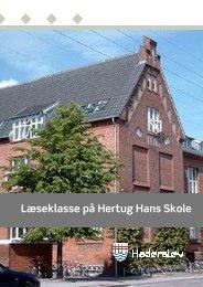 Læseklasse på Hertug Hans Skole - Pædagogisk Center Haderslev