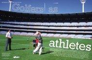 Golfers As Athletes - GolfLink