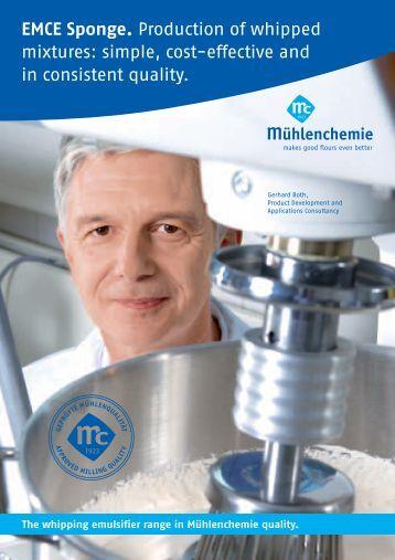 EMCE Sponge - Mühlenchemie GmbH & Co. KG