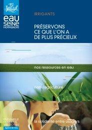 Plaquette irrigation pour Pdf page page.indd - Agence de l'Eau ...