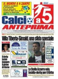 calcio a 5 anteprima 40/09 R