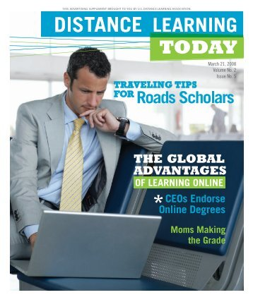 March 21, 2008 - United States Distance Learning Association