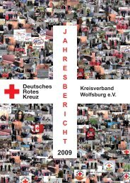 Jahresbericht 2009 - DRK-Kreisverband Wolfsburg eV - Wolfsburg