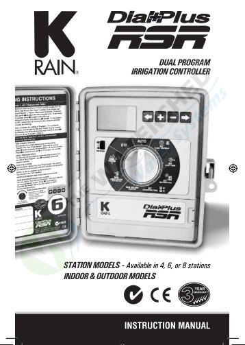 K-Rain Dial Plus RSR - Thewatershed.biz
