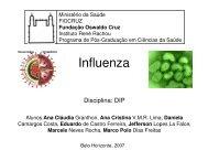 Seminário - Influenza - Centro de Pesquisas René Rachou - Fiocruz