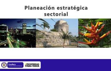 Plan Estratégico Sectorial - Ministerio de Relaciones Exteriores