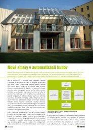 Nové smery v automatizácii budov - iDB Journal