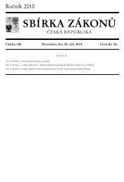 Částka 100, 270-272 - Ministerstvo vnitra