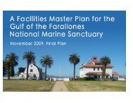 Facilities Master Plan - Gulf of the Farallones National Marine ...
