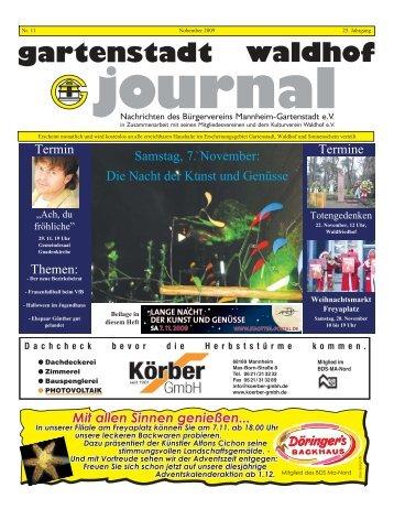gartenstadt waldhof journal Ausgabe 11 2009 GAJO_11_09.pdf