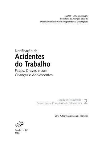 NOTIFICAÇÃO DE ACIDENTES DO TRABALHO.pdf - Renast Online