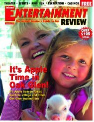 September, 2005 - Inland Entertainment Review Magazine