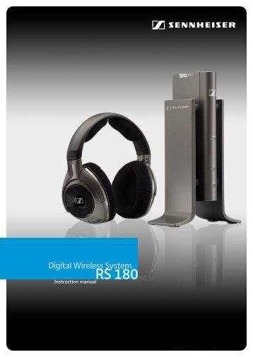 M486 Sennheiser RS180 - Action On Hearing Loss