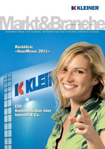 Juni 2011 - Konrad Kleiner GmbH & Co. KG