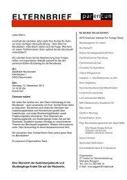 ELTERNBRIEF - Theodor-Litt-Schule - Stadt Neumünster