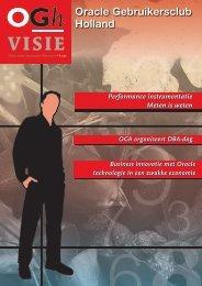 OGh Visie 2009 Najaar - Oracle Gebruikersclub Holland