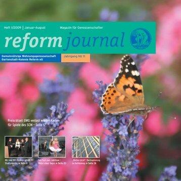 Journal I 2009.49 Bel. - GWG Reform E.g.