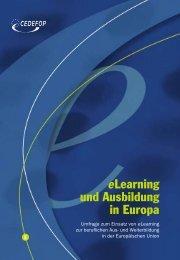 Learning und Ausbildung in Europa - Cedefop