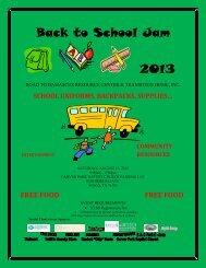 Back to School Jam 2013 - Act Locally Waco