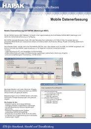 Mobile Datenerfassung - Keil Computerservice