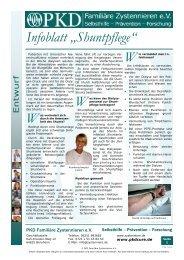 Infoblatt C23 Shuntpflege V1.0.pub - Dialyseshunt