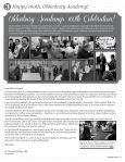 Spring 2013 Alumni Newsletter - Oldenburg Academy - Page 3