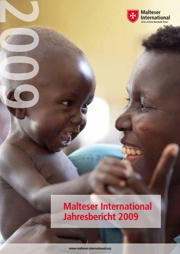 Malteser International Jahresbericht 2009 - Ordine di Malta