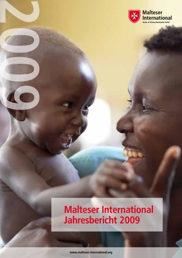 Malteser International Jahresbericht 2009 - Ordine di Malta
