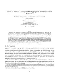 Impact of Network Density on Data Aggregation in Wireless Sensor ...