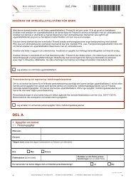 ansökan om uppehållstillstånd för barn - Maahanmuuttovirasto