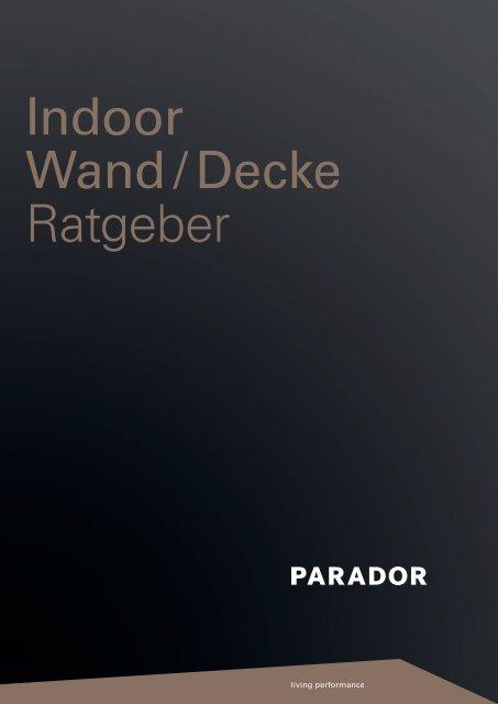 Indoor Wand / Decke Ratgeber - Sperrholz-Beck GmbH