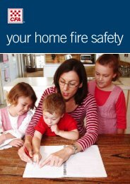 Home Fire Safety brochure (PDF 773k)