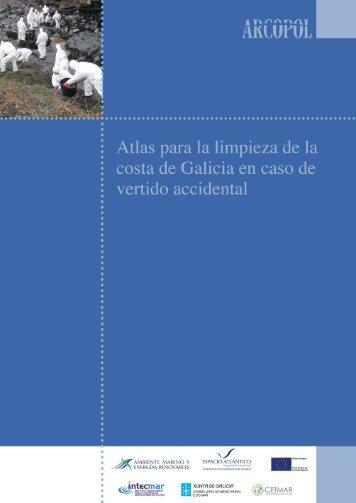 Atlas para la limpieza de la costa de Galicia en caso de ... - Arcopol.eu