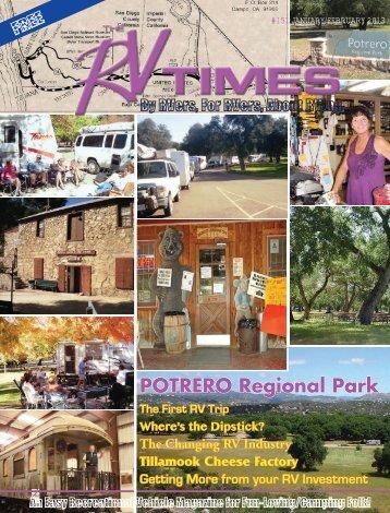 POTRERO Regional Park - RV Times