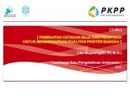 Presentasi Evaluasi I.99 - PKPP